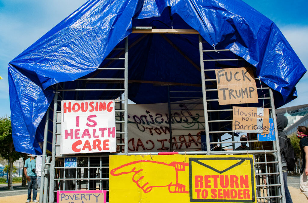 Return to Sender: House the Bay Rallies Against UC Hastings Settlement —Street Sheet